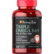 Triple Omega 3-6-9 60 капсул
