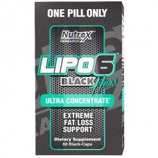 Lipo - 6 Black Hers Ultra Concentrate 60 капсул