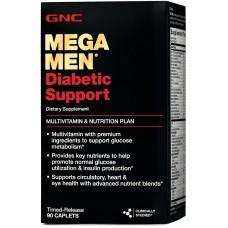Mega Men Diabetic Support 90 капсул