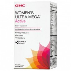 GNC Womens Ultra Mega Active 180 капсул