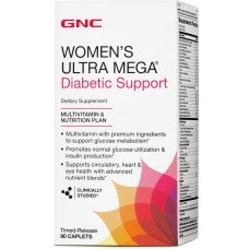 Womens Ultra Mega Diabetic Support 90 капсул
