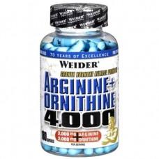 Arginine + Ornithine 4000 180 капсул
