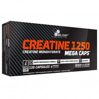 Creatine Mega Caps 1250 120 капсул