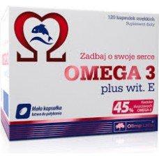 ОМЕГА 3(45%) + витамин Е 120 капсул